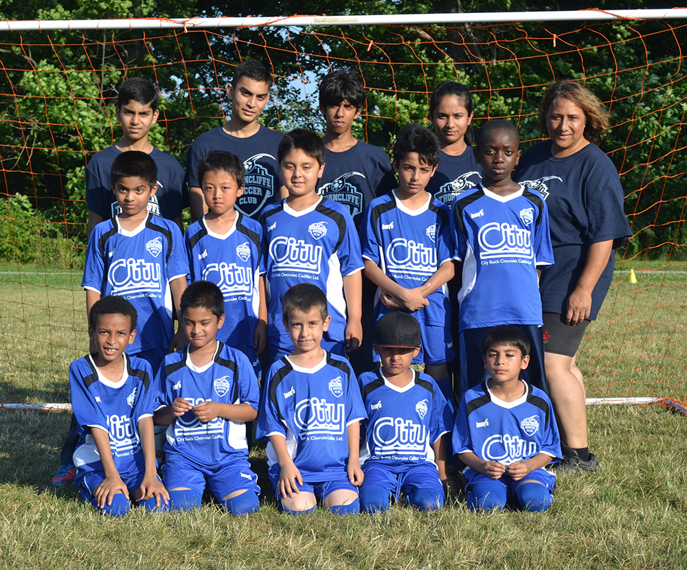 soccer team photo